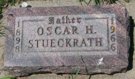 STUECKRATH, OSCAR H. - Cedar County, Nebraska | OSCAR H. STUECKRATH - Nebraska Gravestone Photos