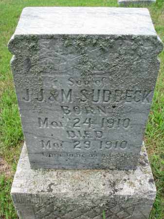 SUDBECK, ERWIN W. - Cedar County, Nebraska   ERWIN W. SUDBECK - Nebraska Gravestone Photos