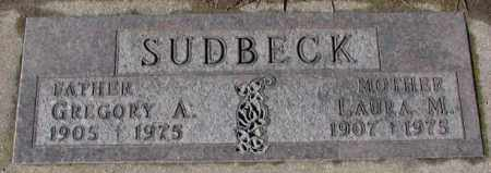 SUDBECK, LAURA M. - Cedar County, Nebraska | LAURA M. SUDBECK - Nebraska Gravestone Photos