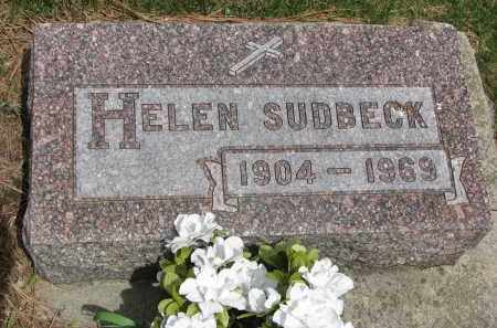 SUDBECK, HELEN - Cedar County, Nebraska   HELEN SUDBECK - Nebraska Gravestone Photos