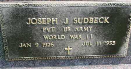 SUDBECK, JOSEPH J. (WW II) - Cedar County, Nebraska | JOSEPH J. (WW II) SUDBECK - Nebraska Gravestone Photos
