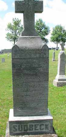 SUDBECK, JOSEPH - Cedar County, Nebraska | JOSEPH SUDBECK - Nebraska Gravestone Photos