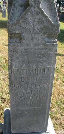SUDBECK, KATHERINA - Cedar County, Nebraska | KATHERINA SUDBECK - Nebraska Gravestone Photos