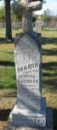 SUDBECK, MARIA - Cedar County, Nebraska | MARIA SUDBECK - Nebraska Gravestone Photos