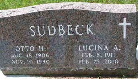 SUDBECK, OTTO H. - Cedar County, Nebraska | OTTO H. SUDBECK - Nebraska Gravestone Photos
