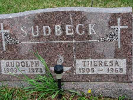 SUDBECK, RUDOLPH - Cedar County, Nebraska   RUDOLPH SUDBECK - Nebraska Gravestone Photos
