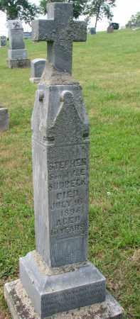 SUDBECK, STEPHEN - Cedar County, Nebraska | STEPHEN SUDBECK - Nebraska Gravestone Photos
