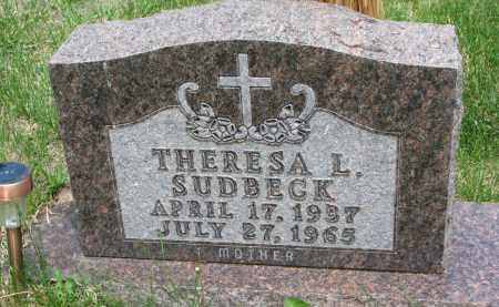 SUDBECK, THERESA L. - Cedar County, Nebraska | THERESA L. SUDBECK - Nebraska Gravestone Photos