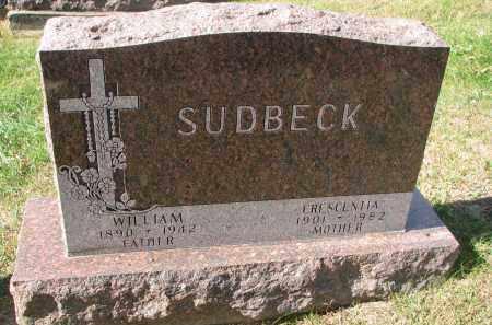 SUDBECK, WILLIAM - Cedar County, Nebraska | WILLIAM SUDBECK - Nebraska Gravestone Photos