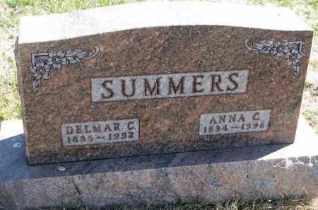 SUMMERS, ANNA C. - Cedar County, Nebraska | ANNA C. SUMMERS - Nebraska Gravestone Photos