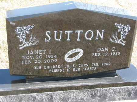 SUTTON, DAN C. - Cedar County, Nebraska | DAN C. SUTTON - Nebraska Gravestone Photos