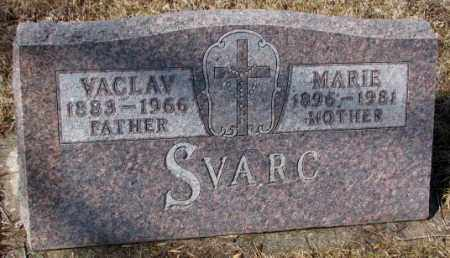 SVARC, MARIE - Cedar County, Nebraska   MARIE SVARC - Nebraska Gravestone Photos