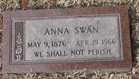 SWAN, ANNA - Cedar County, Nebraska | ANNA SWAN - Nebraska Gravestone Photos