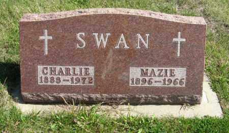 SWAN, CHARLIE - Cedar County, Nebraska   CHARLIE SWAN - Nebraska Gravestone Photos