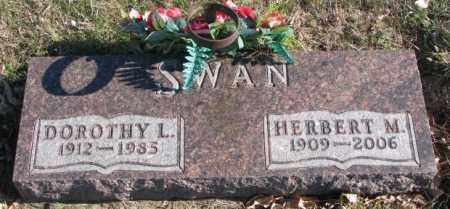 SWAN, DOROTHY L. - Cedar County, Nebraska   DOROTHY L. SWAN - Nebraska Gravestone Photos