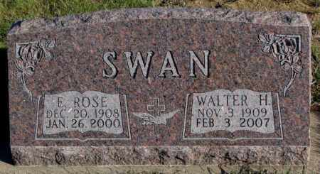 SWAN, WALTER H. - Cedar County, Nebraska | WALTER H. SWAN - Nebraska Gravestone Photos