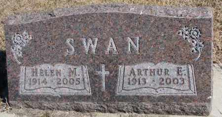 SWAN, ARTHUR E. - Cedar County, Nebraska   ARTHUR E. SWAN - Nebraska Gravestone Photos