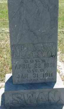 SWAN, IVIE A. - Cedar County, Nebraska | IVIE A. SWAN - Nebraska Gravestone Photos