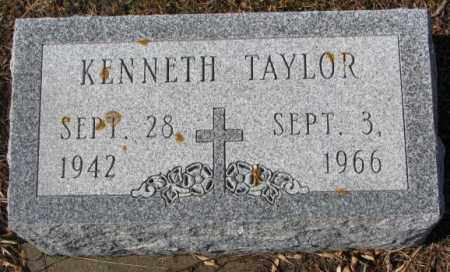TAYLOR, KENNETH - Cedar County, Nebraska | KENNETH TAYLOR - Nebraska Gravestone Photos