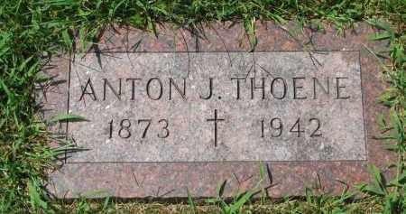 THOENE, ANTON J. - Cedar County, Nebraska | ANTON J. THOENE - Nebraska Gravestone Photos