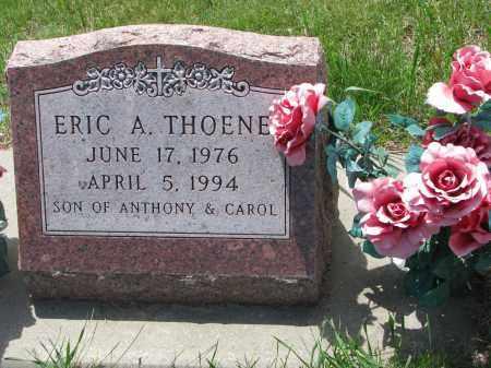 THOENE, ERIC A. - Cedar County, Nebraska   ERIC A. THOENE - Nebraska Gravestone Photos