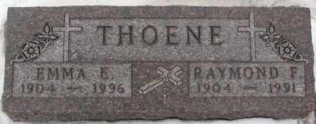 THOENE, EMMA E. - Cedar County, Nebraska | EMMA E. THOENE - Nebraska Gravestone Photos