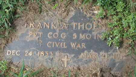 THOENE, FRANK A. (CIVIL WAR) - Cedar County, Nebraska | FRANK A. (CIVIL WAR) THOENE - Nebraska Gravestone Photos