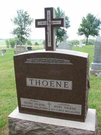 THOENE, MARY - Cedar County, Nebraska | MARY THOENE - Nebraska Gravestone Photos