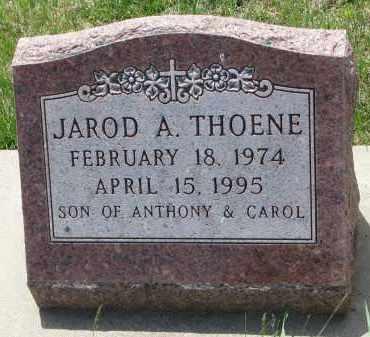 THOENE, JAROD A. - Cedar County, Nebraska   JAROD A. THOENE - Nebraska Gravestone Photos