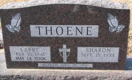 THOENE, LARRY - Cedar County, Nebraska | LARRY THOENE - Nebraska Gravestone Photos