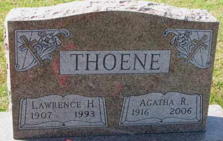 THOENE, LAWRENCE H. - Cedar County, Nebraska | LAWRENCE H. THOENE - Nebraska Gravestone Photos