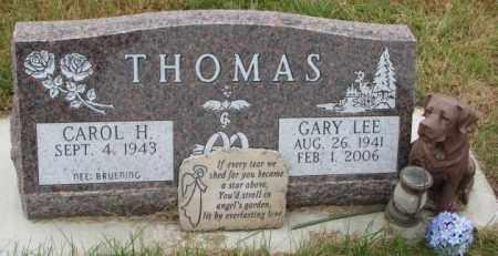 BRUENING THOMAS, CAROL H. - Cedar County, Nebraska   CAROL H. BRUENING THOMAS - Nebraska Gravestone Photos