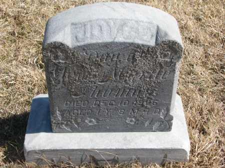 THOMAS, JOYCE (CLOSEUP) - Cedar County, Nebraska   JOYCE (CLOSEUP) THOMAS - Nebraska Gravestone Photos