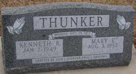 THUNKER, KENNETH R. - Cedar County, Nebraska | KENNETH R. THUNKER - Nebraska Gravestone Photos