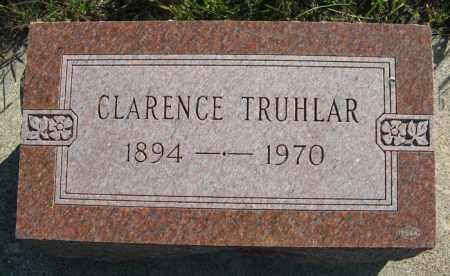 TRUHLAR, CLARENCE - Cedar County, Nebraska | CLARENCE TRUHLAR - Nebraska Gravestone Photos
