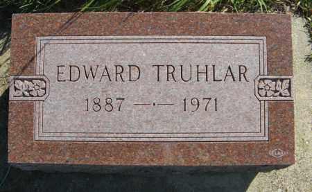TRUHLAR, EDWARD - Cedar County, Nebraska | EDWARD TRUHLAR - Nebraska Gravestone Photos