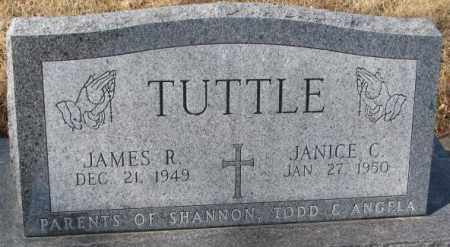 TUTTLE, JAMES R. - Cedar County, Nebraska | JAMES R. TUTTLE - Nebraska Gravestone Photos