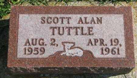 TUTTLE, SCOTT ALAN - Cedar County, Nebraska | SCOTT ALAN TUTTLE - Nebraska Gravestone Photos