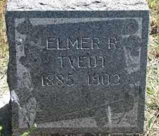 TVEDT, ELMER R. - Cedar County, Nebraska | ELMER R. TVEDT - Nebraska Gravestone Photos