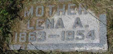 TVEDT, LENA A. - Cedar County, Nebraska | LENA A. TVEDT - Nebraska Gravestone Photos