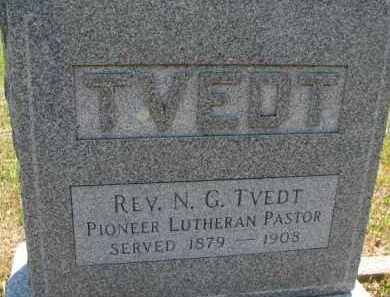 TVEDT, N.G. (REV.) - Cedar County, Nebraska | N.G. (REV.) TVEDT - Nebraska Gravestone Photos