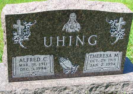 UHING, ALFRED C. - Cedar County, Nebraska | ALFRED C. UHING - Nebraska Gravestone Photos