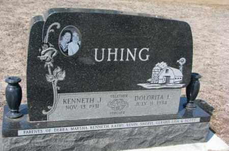 UHING, KENNETH J. - Cedar County, Nebraska | KENNETH J. UHING - Nebraska Gravestone Photos