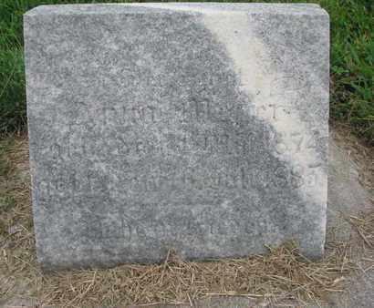 UNKNOWN, ANNA - Cedar County, Nebraska | ANNA UNKNOWN - Nebraska Gravestone Photos