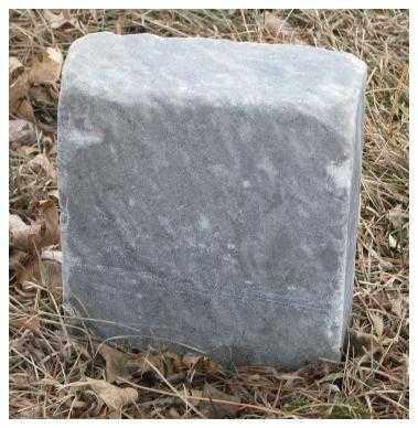 UNKNOWN, FOOTSTONE? - Cedar County, Nebraska   FOOTSTONE? UNKNOWN - Nebraska Gravestone Photos