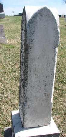 UNKNOWN, FLOYD S. - Cedar County, Nebraska | FLOYD S. UNKNOWN - Nebraska Gravestone Photos