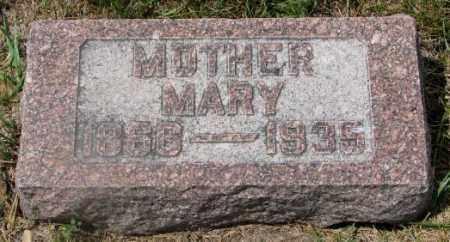 UNKNOWN, MARY - Cedar County, Nebraska | MARY UNKNOWN - Nebraska Gravestone Photos