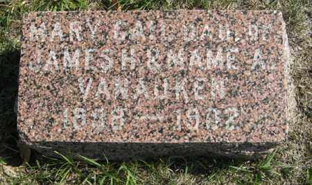 VANAUKEN, MARY GAIL - Cedar County, Nebraska | MARY GAIL VANAUKEN - Nebraska Gravestone Photos