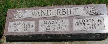 VANDERBILT, GEORGE H. - Cedar County, Nebraska | GEORGE H. VANDERBILT - Nebraska Gravestone Photos