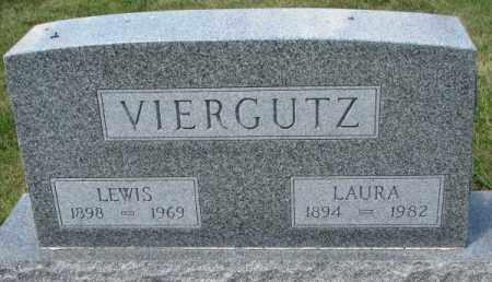 VIERGUTZ, LEWIS - Cedar County, Nebraska | LEWIS VIERGUTZ - Nebraska Gravestone Photos
